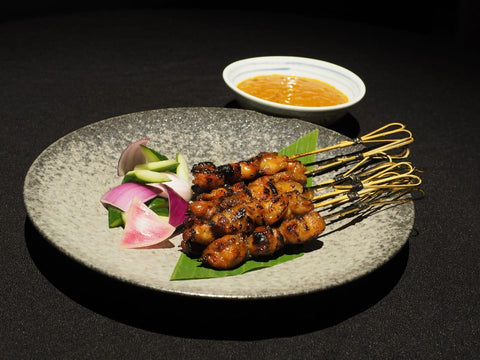 "Bincho Grilled Chicken ""Yakitori"" Satay (8 sticks)"
