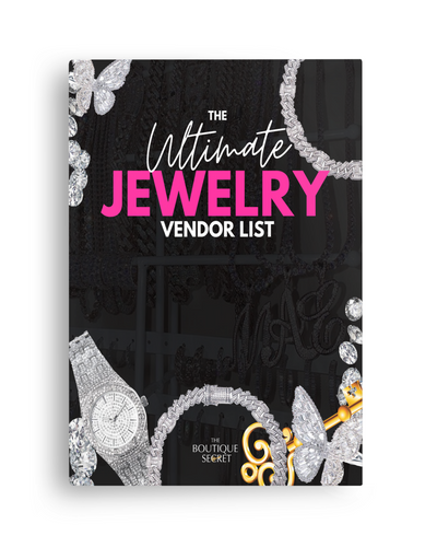 The Ultimate Jewelry Vendor List
