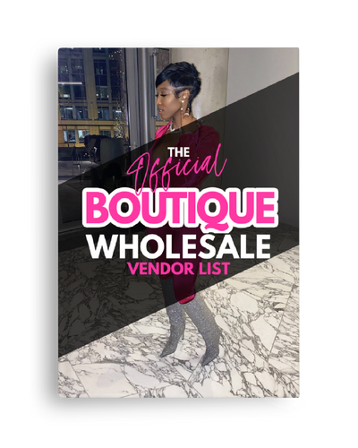 The Official Boutique Wholesale Vendor List