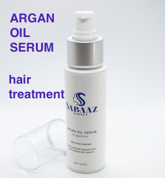 Argan Oil Hair Serum 60ml - Instant Shine Long Lasting Hair Repair