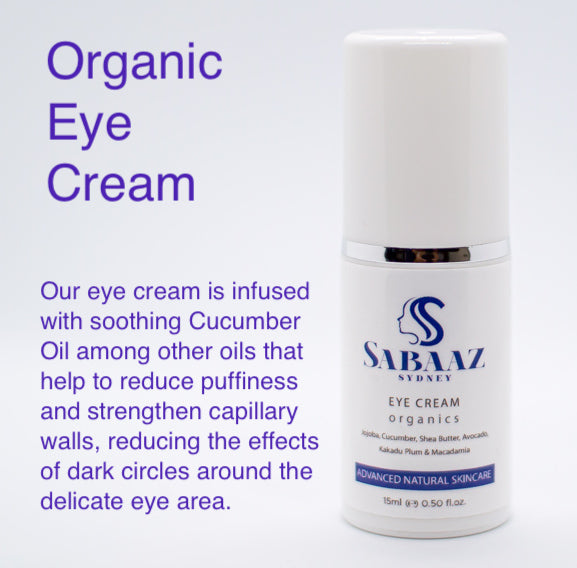 Eye Cream Organic 15ml / 0.5 fl. oz.
