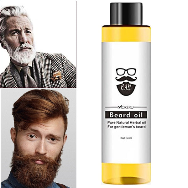 100% Organic Beard Oil Hair loss Products Spray Beard Growth Oil For Growth Men Beard Grow Pro