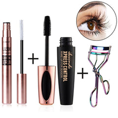 Growth Eyelash Makeup Magic Powerful Eyelash Growth Set Liquid Serum Enhancer Eye Lash Longer Thicker Mascara Makeup Tools Kit
