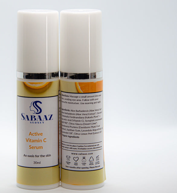 Active Vitamin C Serum - 30ml Brighter Complexion Skin Care