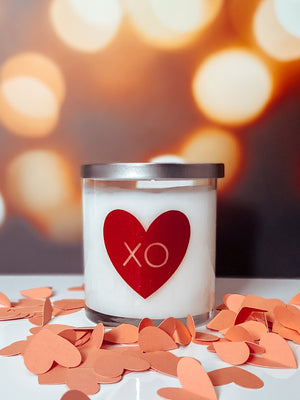 Open image in slideshow, Valentine's Day XO Candle