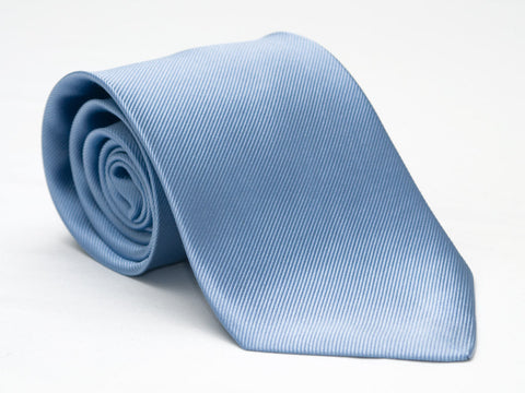 Rolled up Baby Blue tie