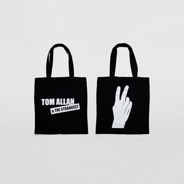 Tom Allan & The Strangest - Dear Boy - Black Tote Bag