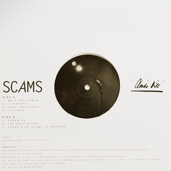 Scams - Live At Clouds Hill - 10""