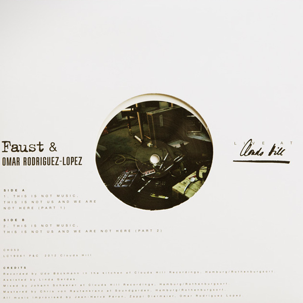 Faust/Rodriguez - Live At Clouds Hill - 10""