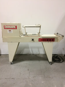 REFURBISHED DAMARK MS-1316 MINIPAK L-BAR SEALER/HEAT TUNNEL COMBO
