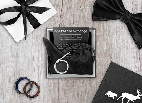 Elk and Cub Ring Packaging