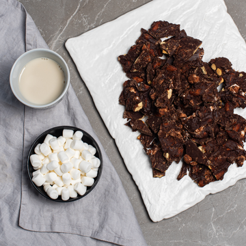 RECIPE: DARK CHOCOLATE ALMOND BARK