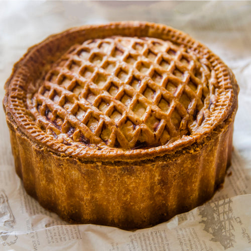 Classic English Pork Pie. 12-16 slices. 2kg party size.