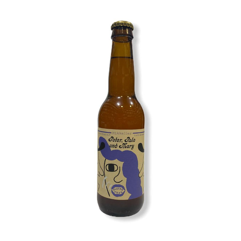 MIKKELLER PETER PALE AND MARY GLUTEN FREE 330ML