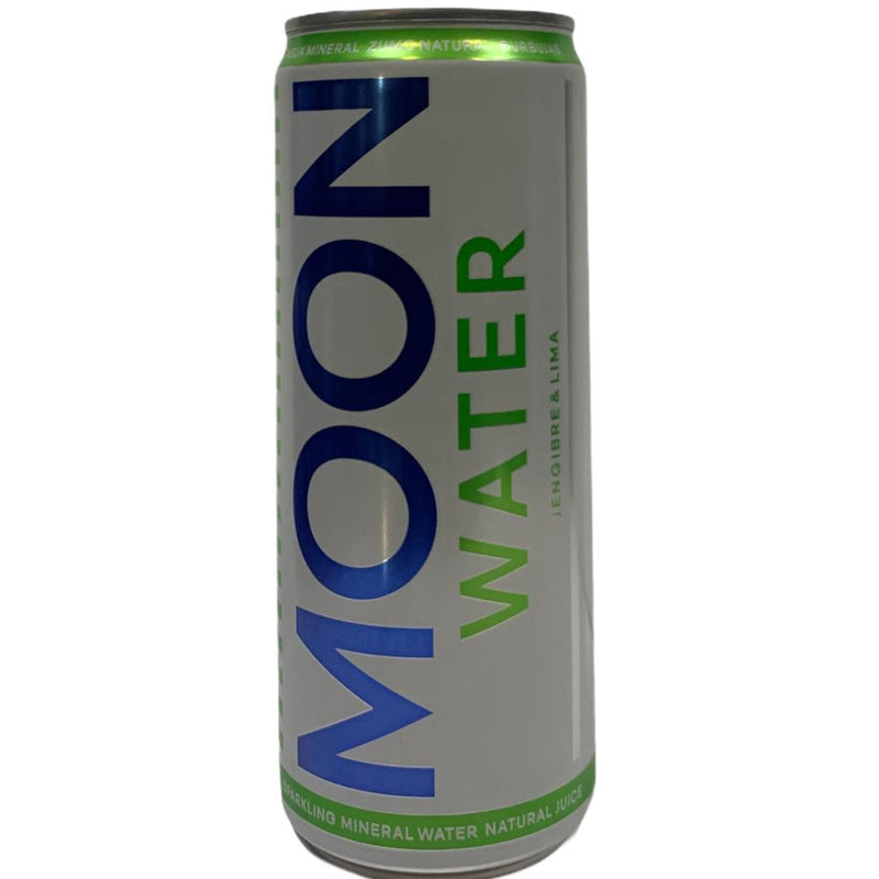 MOON WATER JENGIBRE Y LIMA  330ML