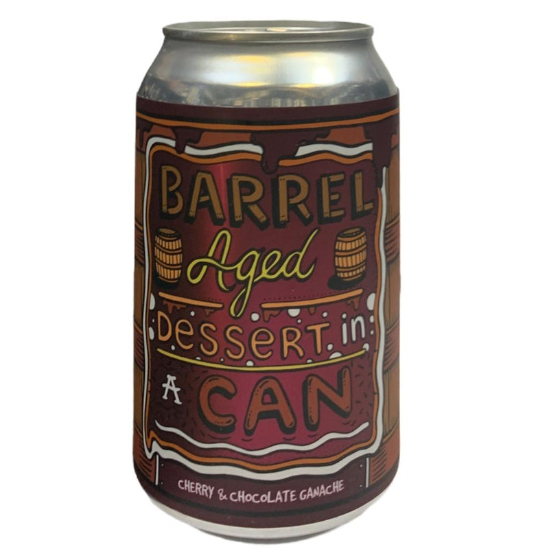 AMUNDSEN BARREL AGED DESSERT IN A CAN CHERRY CHOCOLATE GANACHE 330ML