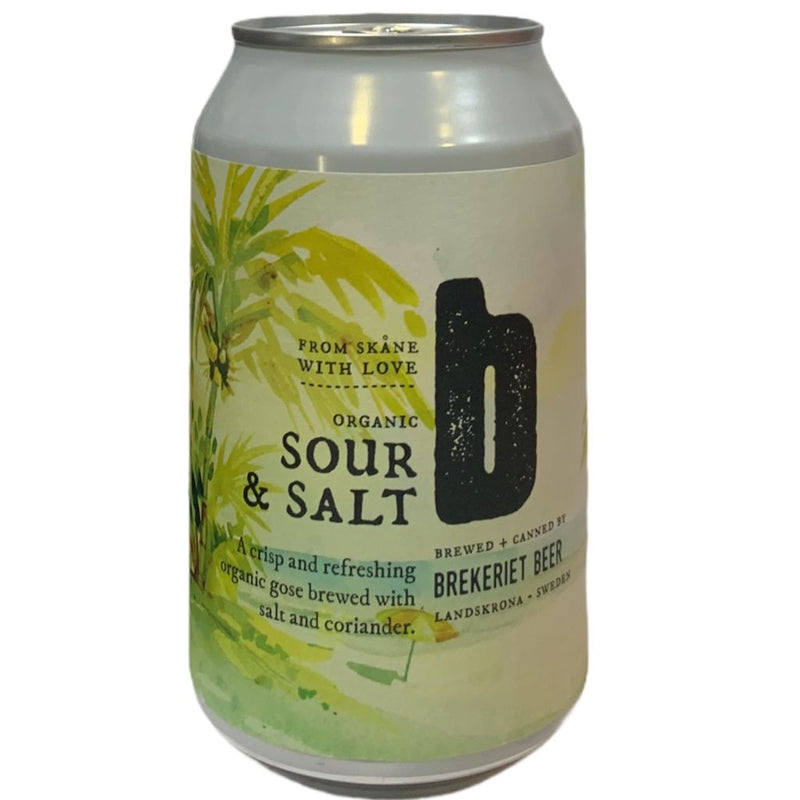 BREKERIET BEER SOUR Y SALT 330ML