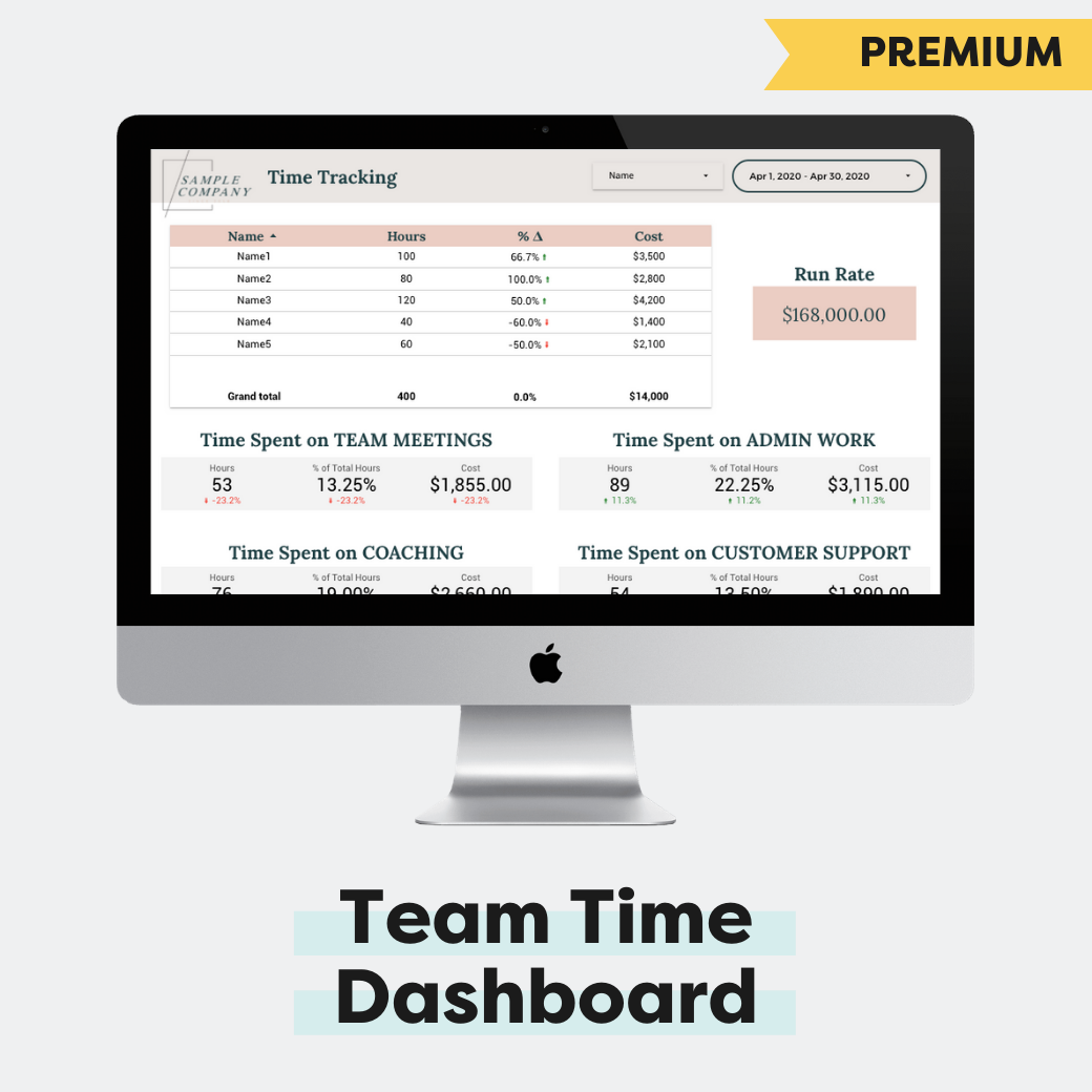 Team Time Tracking Dashboard