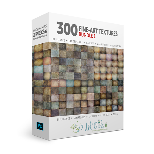 300 Fine-Art Texture Bundle by Denise Love