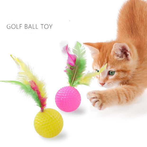 Cat Golf Ball