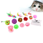 16 pcs Pet Cat Toy Set