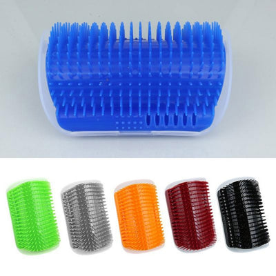 Pet Cat Self Groomer Tool Corner Face Scratching Massage Catnip Comb Hair Removal Brush for Dog Cats Hair Shedding Trimming Tool