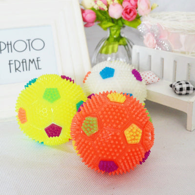 High Quality Flashing Light Up  Colorful Toy Ball