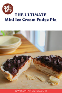 Chocolate Dreams. Mini Ice Cream Fudge Pie.