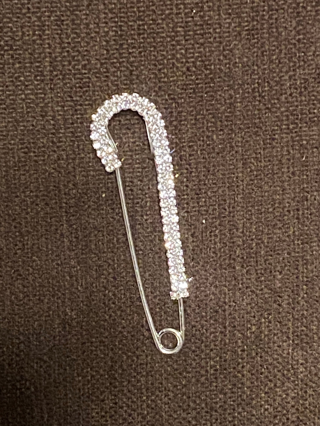 Safety Pin Style Brooch