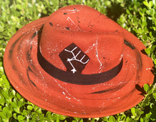 "Load image into Gallery viewer, ""Tiger Eye Resistance"" fedora"