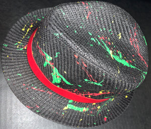 """Summertime"" Resistance Straw Fedora"