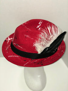 "The ""Red Flash"" fedora"