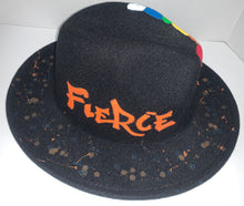 "Load image into Gallery viewer, ""Fierce"" Fedora"
