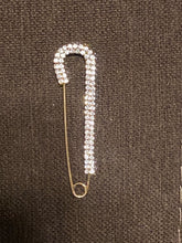 Load image into Gallery viewer, Safety Pin Style Brooch