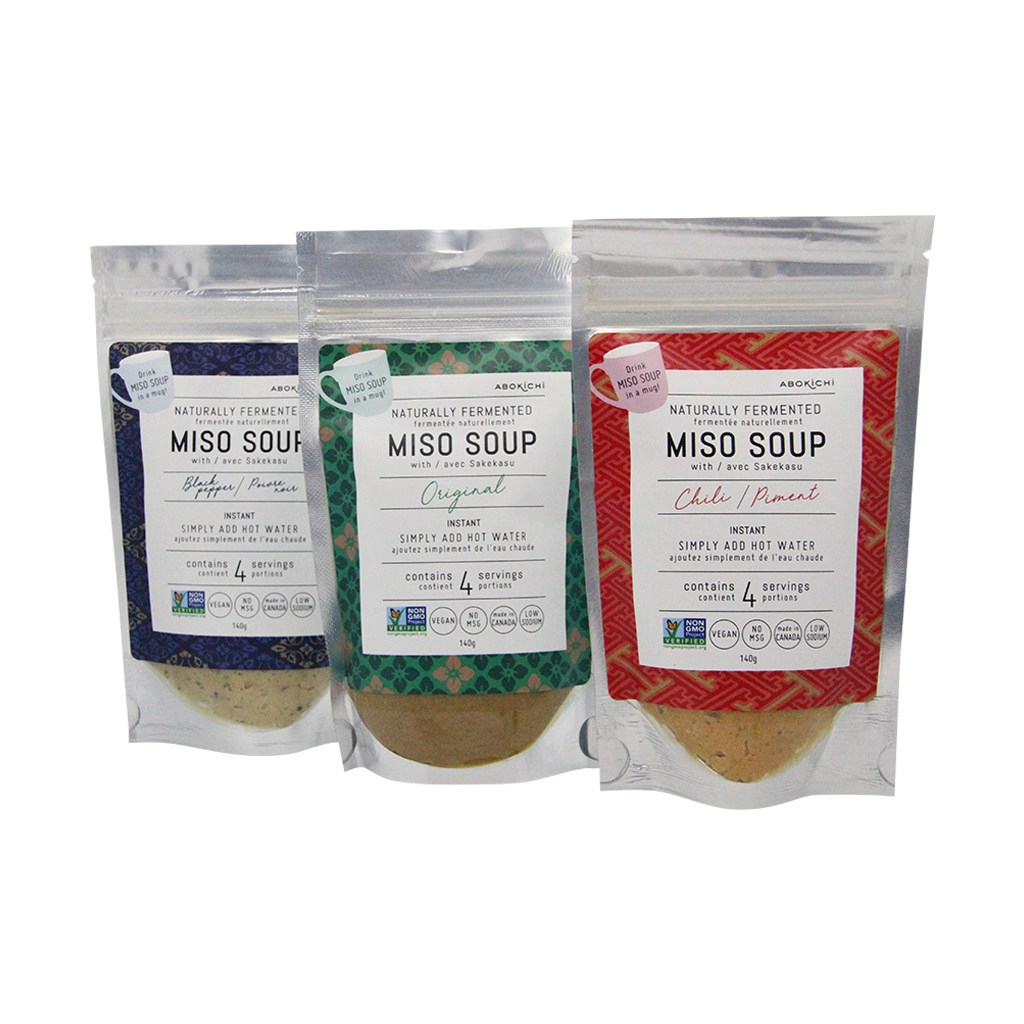 Nourish your body and warm your soul this winter with Abokichi<br />instant miso soup