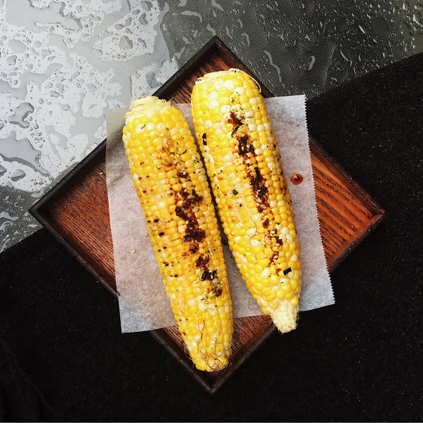 Easy Grilled Corn with Miso Butter and OKAZU