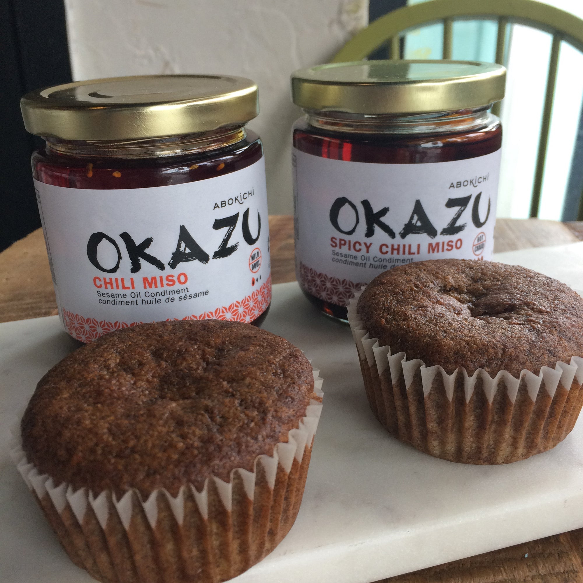 Vegan OKAZU Muffin