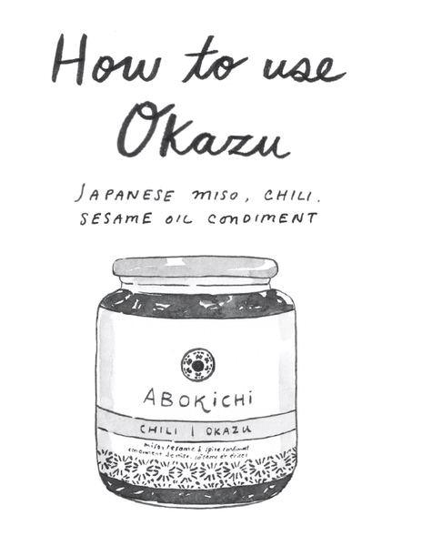 How to use OKAZU Justine Wong | Abokichi 1