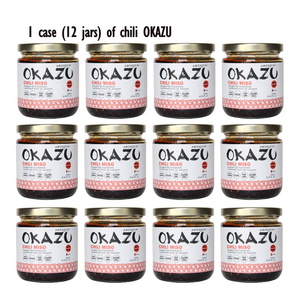 Bulk OKAZU Chili miso 230ml (12 jars/CASE)