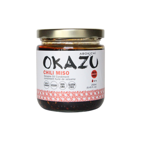 OKAZU - CHILI MISO - Japanese miso chili oil condiment