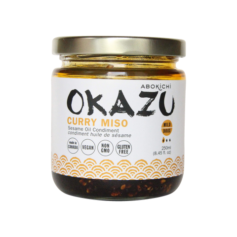 OKAZU - CURRY MISO - Japanese miso curry oil condiment