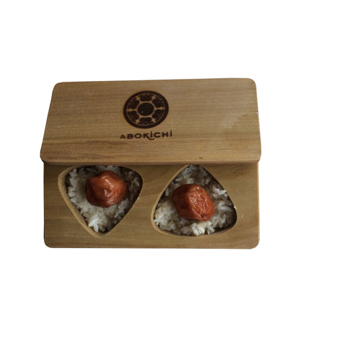 Abokichi MAGNOLIA ONIGIRI RICE MOLD - (made in Japan)