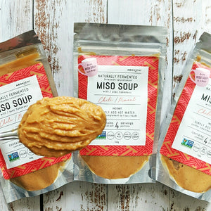 Spicy OKAZU and Chili Instant Miso Soup Set