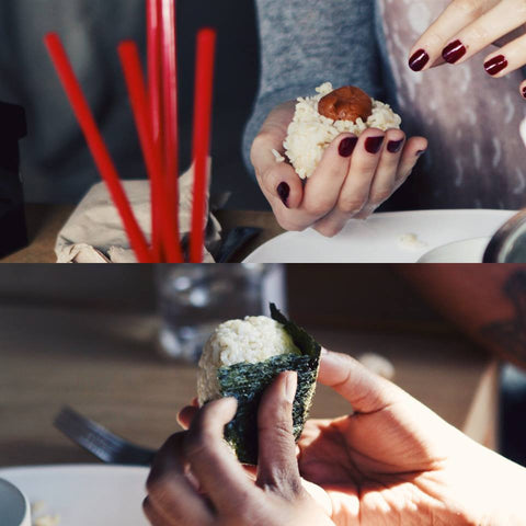 Onigiri making workshop Friday 4th August, 2017 / 3:00 pm - 5:00 pm