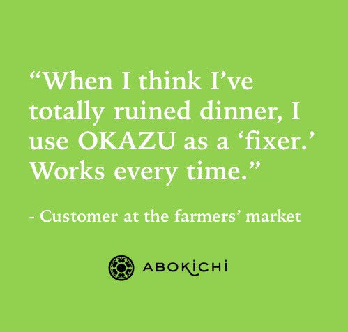 Abokichi Curry Okazu - customer review