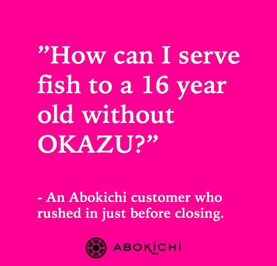 Abokichi Chili Okazu - Customer review