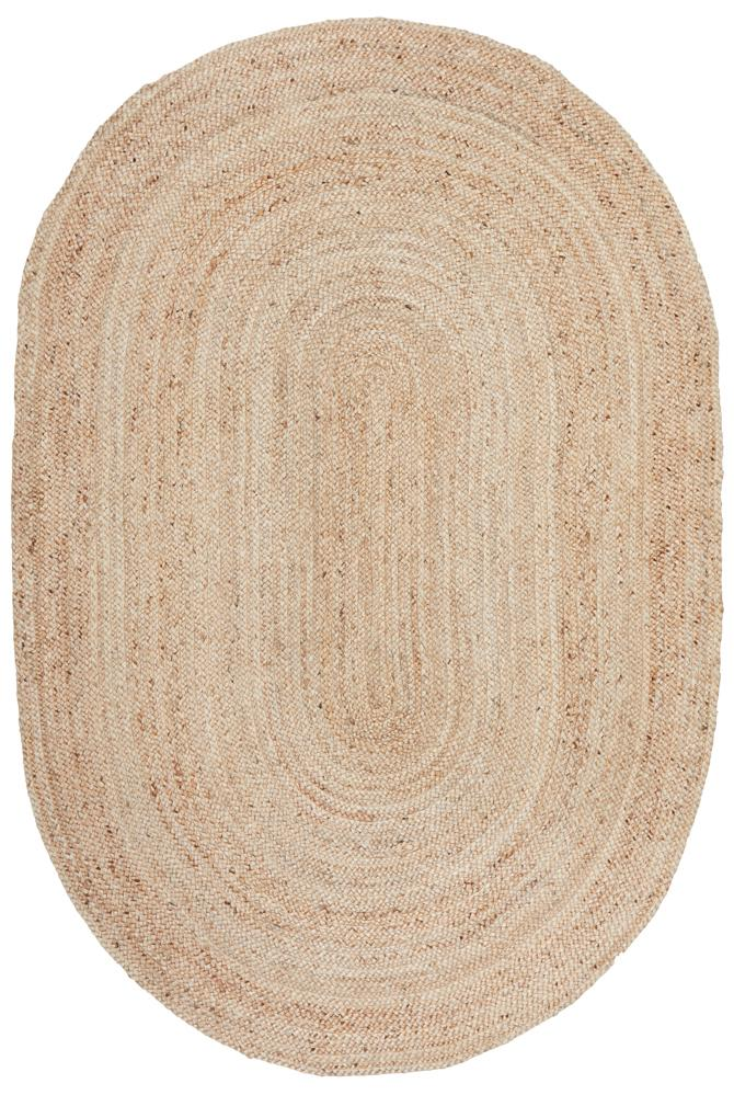 Ansel Rug | Natural Oval