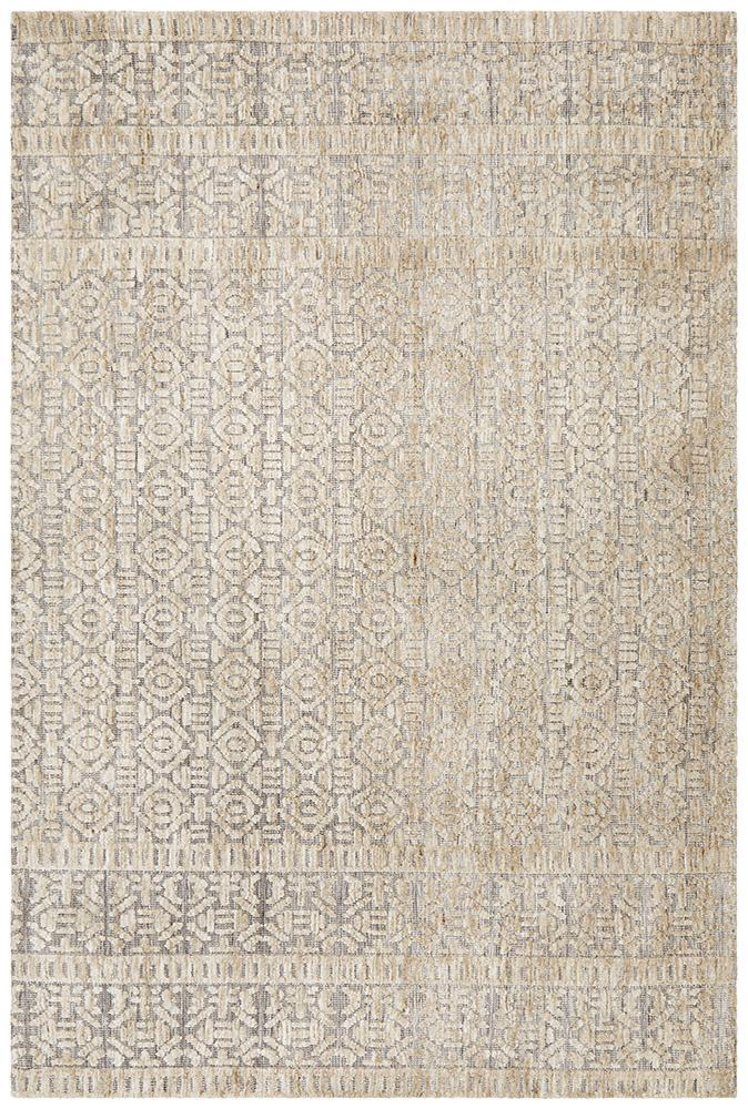 June Rug | Hannah Natural Grey