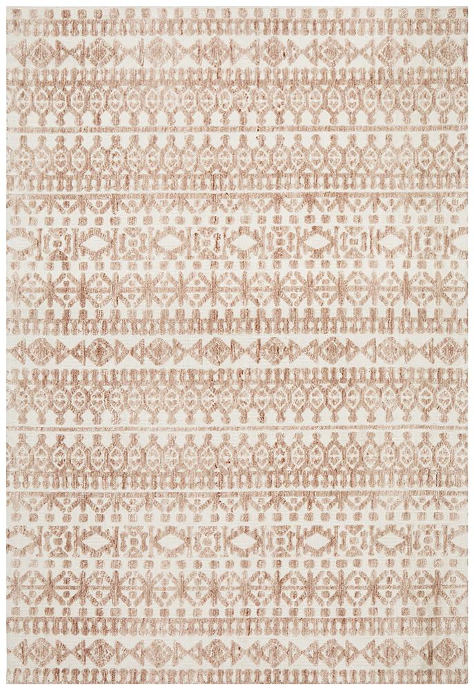 June Rug | Arlo Peach Ivory