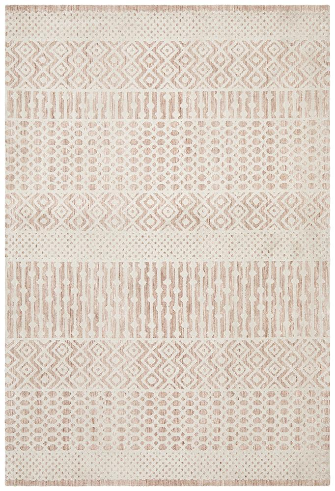 June Rug | Sabre Peach Ivory